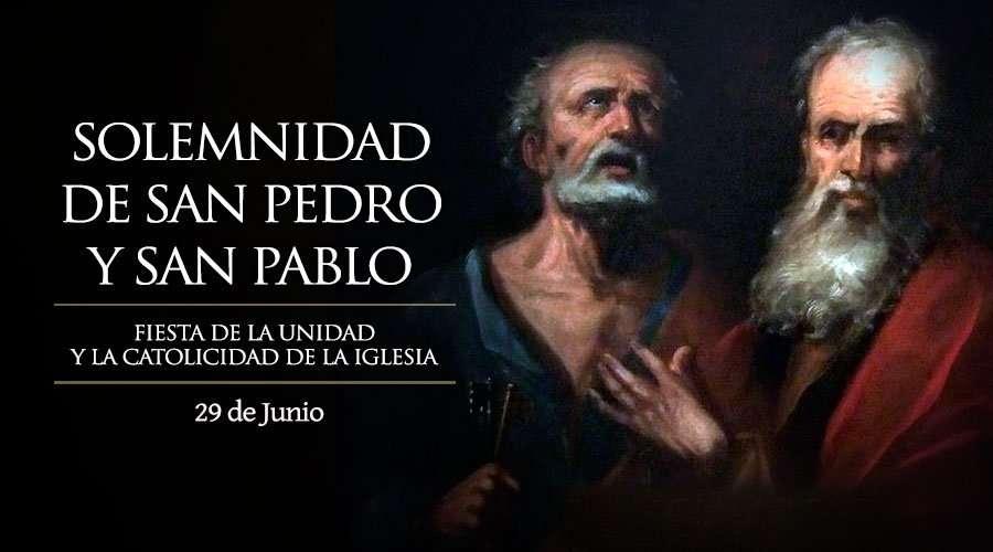 Santoral de hoy 29 de junio: San Pedro y San Pablo